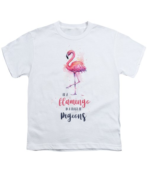 Be A Flamingo Youth T-Shirt