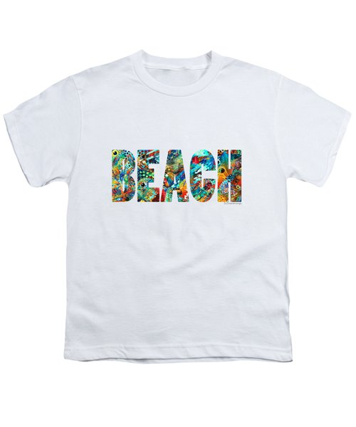 Beach Art - Beachy Keen - By Sharon Cummings Youth T-Shirt