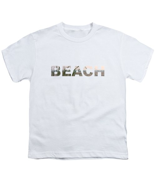 Beach Youth T-Shirt by Laura Kinker