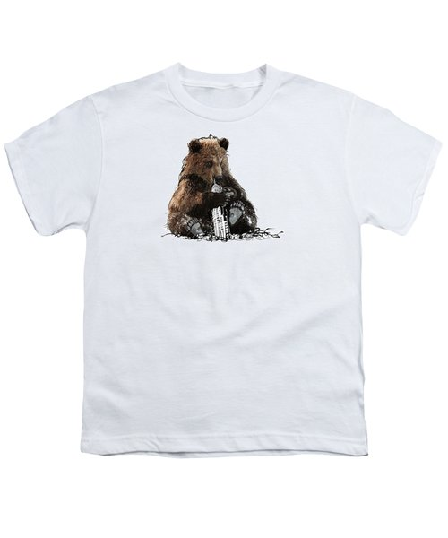 Bear Loves Ny Youth T-Shirt by Devlin