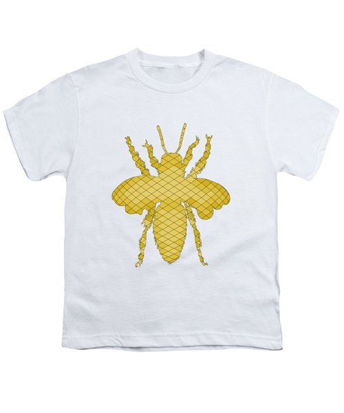 Bee Youth T-Shirt by Mordax Furittus