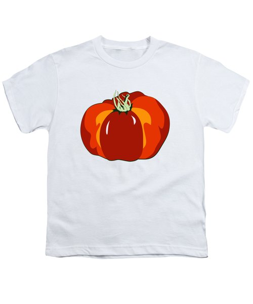 Beefsteak Tomato Youth T-Shirt by MM Anderson
