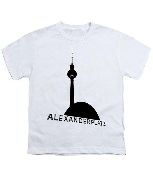 Berlin Alexanderplatz Youth T-Shirt by Julie Woodhouse