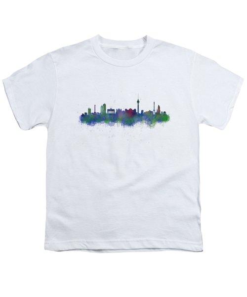 Berlin City Skyline Hq 2 Youth T-Shirt by HQ Photo