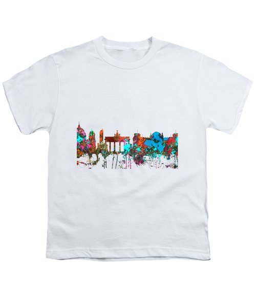 Berlin Germany Skyline  Youth T-Shirt