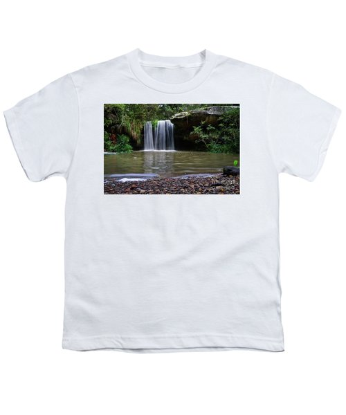 Youth T-Shirt featuring the photograph Berowra Waterfall by Werner Padarin