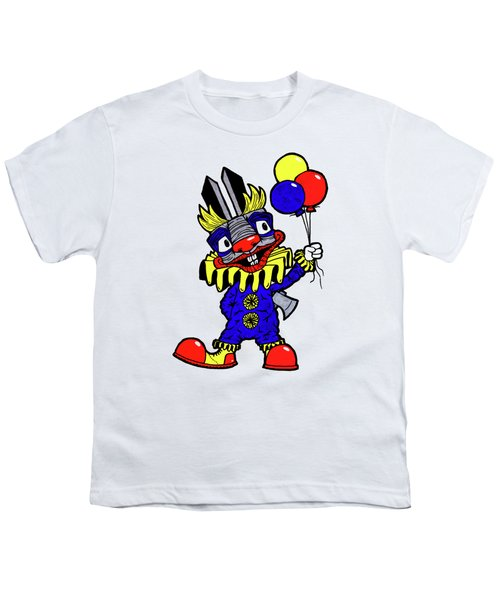 Binky The Bunny Clown Youth T-Shirt