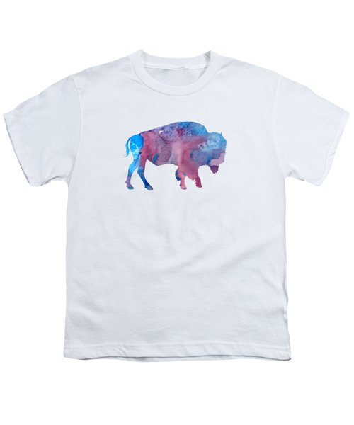 Bison Silhouette Youth T-Shirt