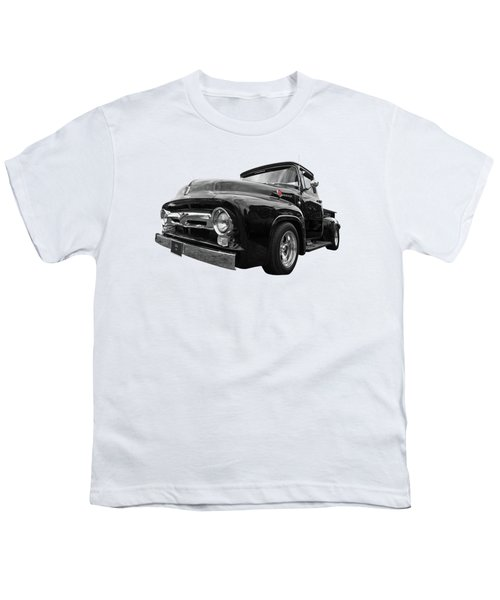 Black Beauty - 1956 Ford F100 Youth T-Shirt