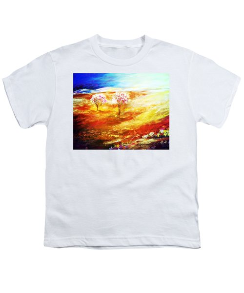 Blossom Dawn Youth T-Shirt by Winsome Gunning