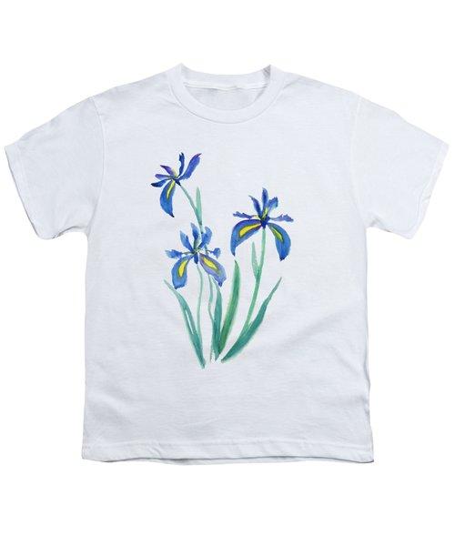 Blue Iris Youth T-Shirt