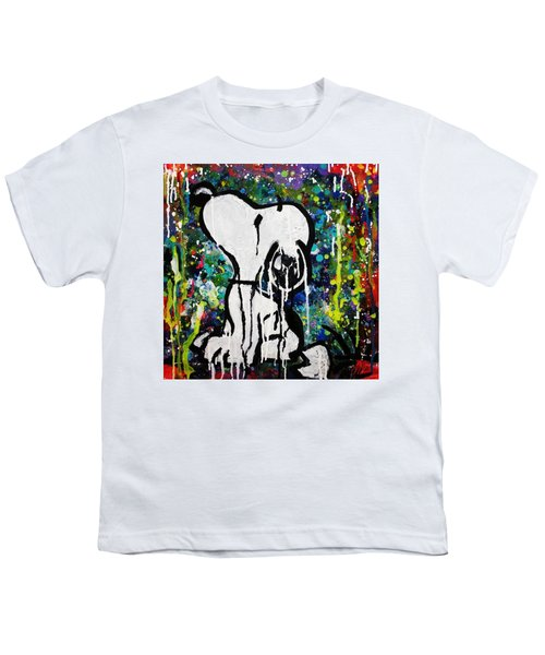 Bold.snoopy Youth T-Shirt