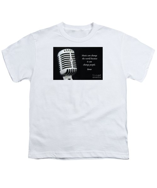 Bono On Music Youth T-Shirt