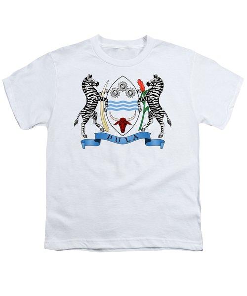 Botswana Coat Of Arms Youth T-Shirt
