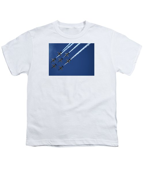 Breitling Team Crowd Pleases At Reno Air Races Youth T-Shirt