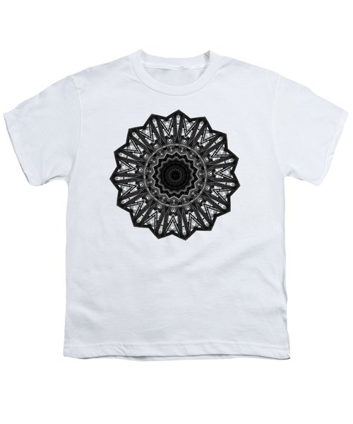 Bridge Construction Kaleidoscope By Kaye Menner Youth T-Shirt