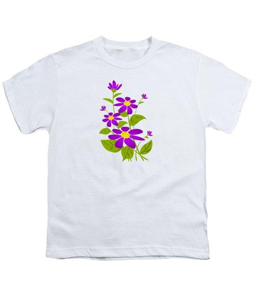 Bright Purple Youth T-Shirt by Anastasiya Malakhova