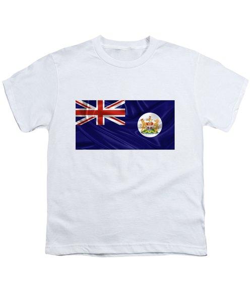 British Hong Kong Flag Youth T-Shirt by Serge Averbukh