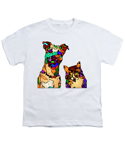 Buddies For Life. Pet Series Youth T-Shirt