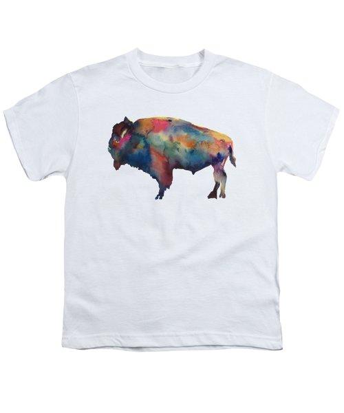 Buffalo Youth T-Shirt by Marybeth Cunningham