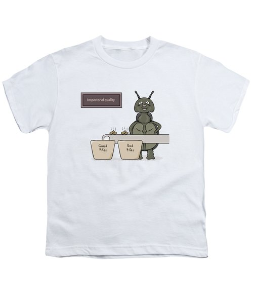 Bug As A Inspector Of Quality Youth T-Shirt