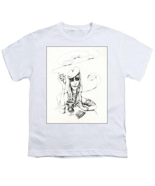Cafe Lady Youth T-Shirt