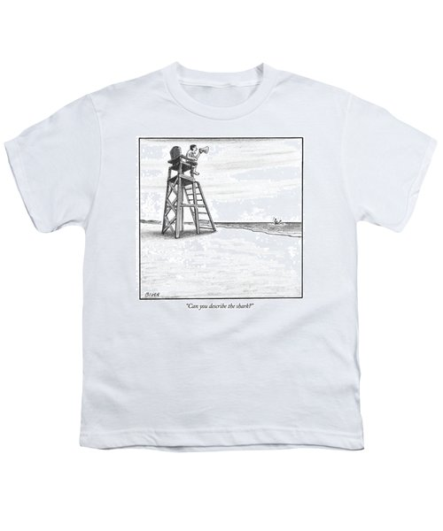 Can You Describe The Shark Youth T-Shirt