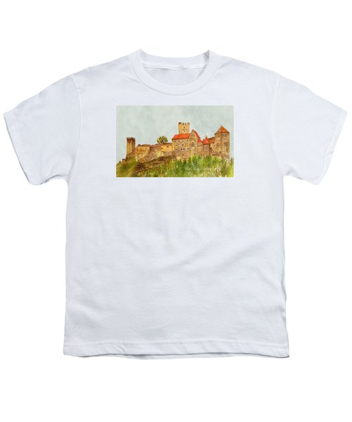 Castle Hardegg Youth T-Shirt by Angeles M Pomata