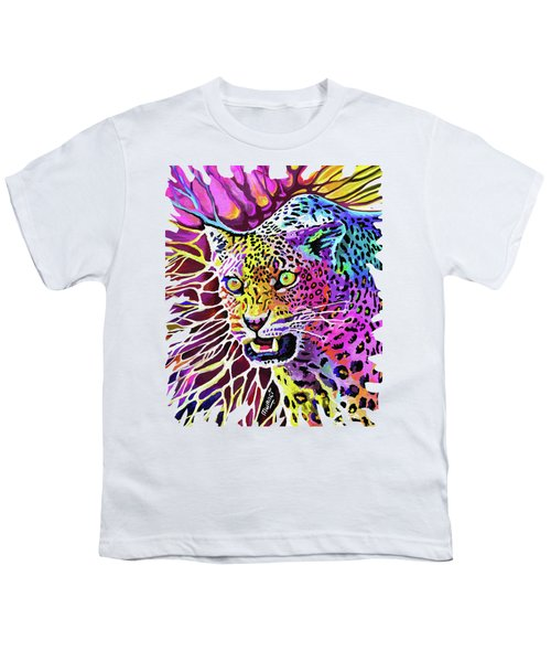 Cat Beauty Youth T-Shirt by Anthony Mwangi