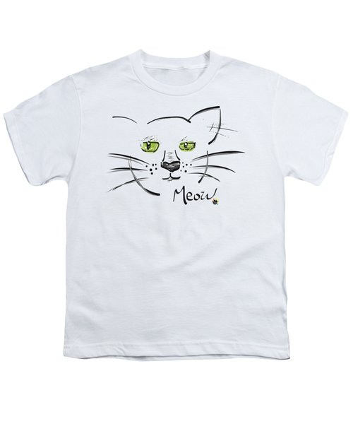 Cat Meow Youth T-Shirt