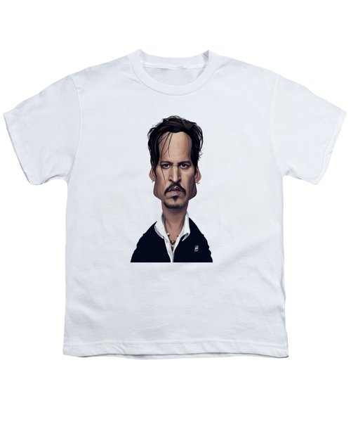 Celebrity Sunday - Johnny Depp Youth T-Shirt