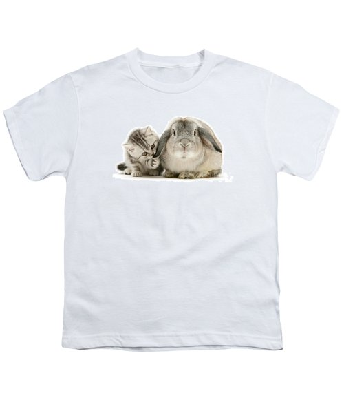 Checking For Grey Hares Youth T-Shirt