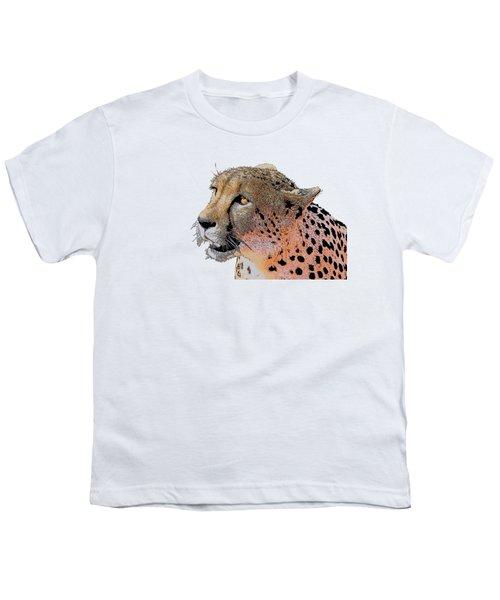 Cheetah Golden Eye Youth T-Shirt