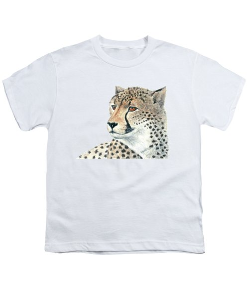 Cheetah Youth T-Shirt by Katerina Kirilova