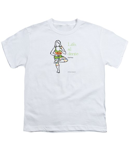 Chef Pose Youth T-Shirt