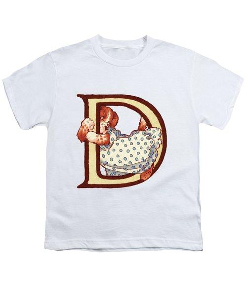 Children's Letter D Youth T-Shirt