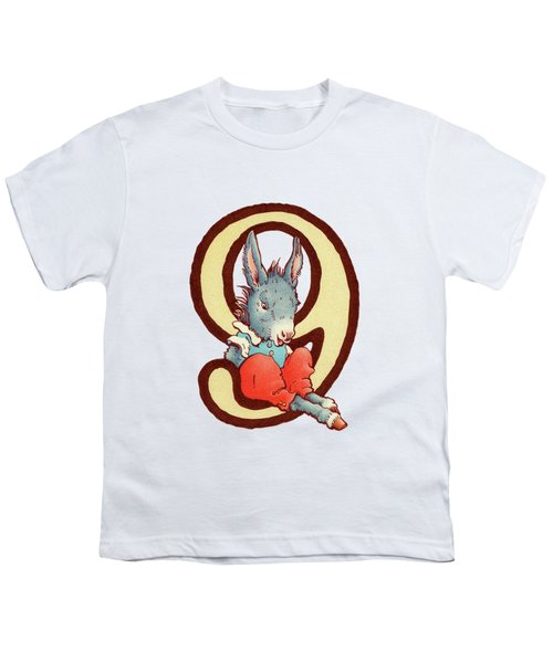 Children's Number 9 Youth T-Shirt by Andrea Richardson