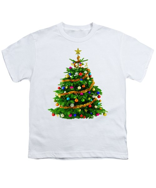 Christmas Tree 1417 Youth T-Shirt