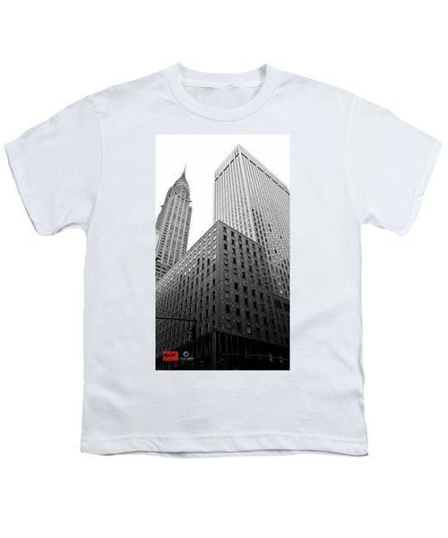 Chrystler Lofts Youth T-Shirt by Rennie RenWah