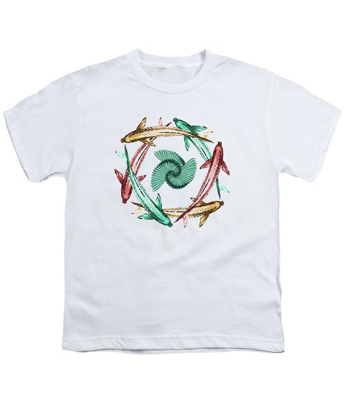 Circle Youth T-Shirt by Deborah Smith