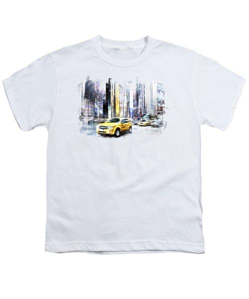 City-art Times Square II Youth T-Shirt
