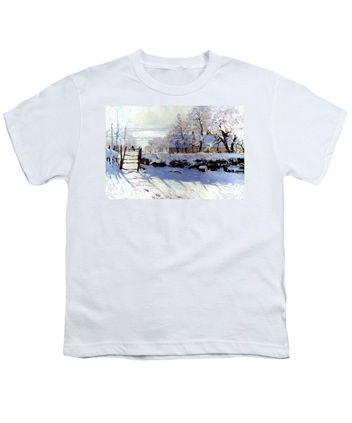 Claude Monet The Magpie - To License For Professional Use Visit Granger.com Youth T-Shirt