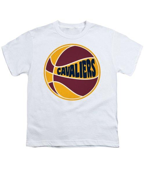 Cleveland Cavaliers Retro Shirt Youth T-Shirt by Joe Hamilton
