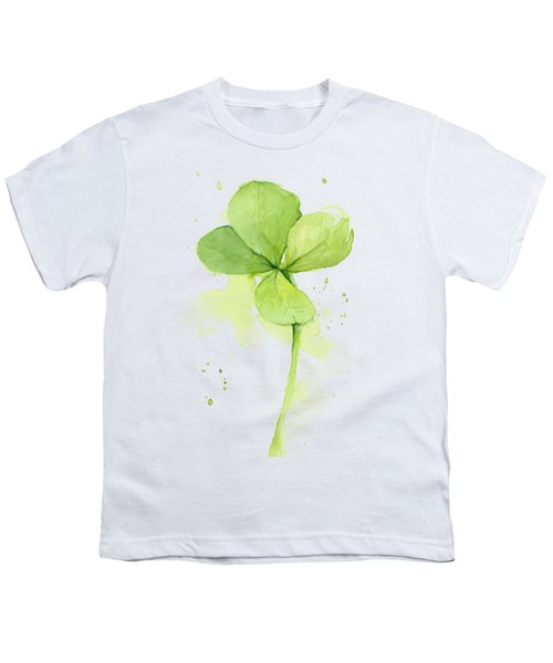 Clover Watercolor Youth T-Shirt