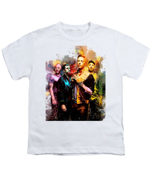 Coldplay Youth T-Shirt by Rinaldo Ananta