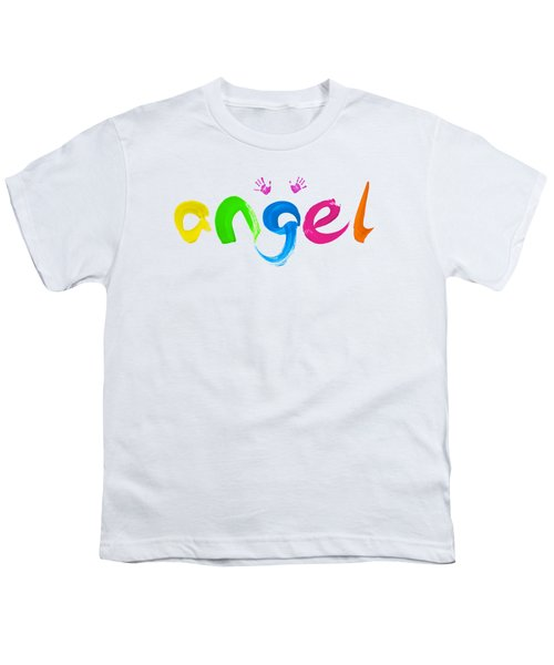 Colorful Angel Youth T-Shirt