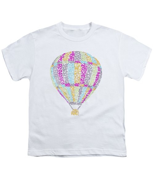 Colorful Baloon Youth T-Shirt
