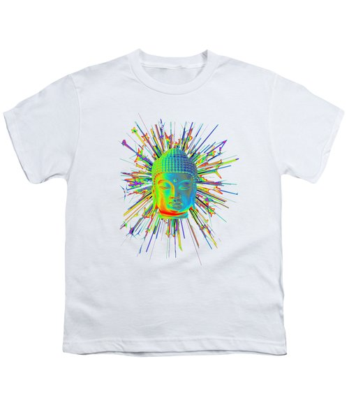 colorful Korean sparkle Youth T-Shirt by Terrell Kaucher