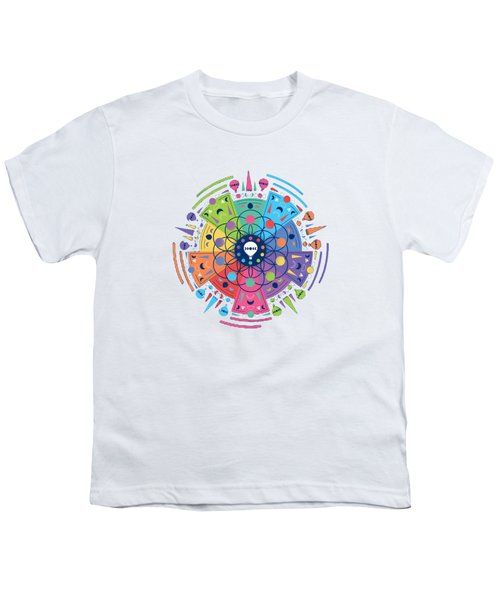 Colourful Of Stars Youth T-Shirt