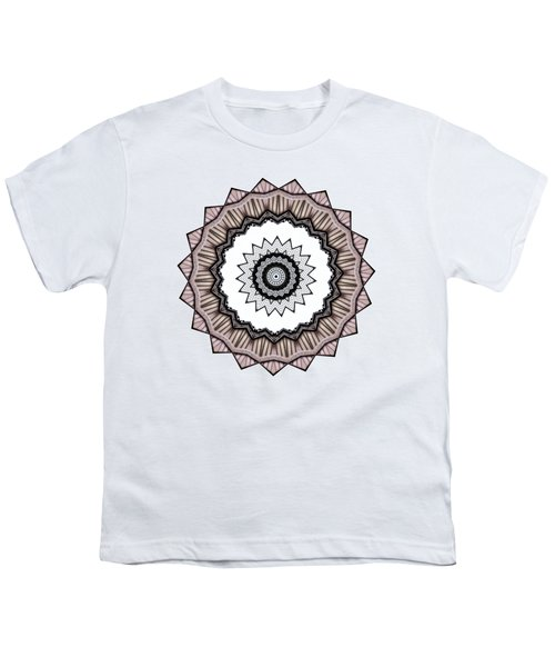 Construction Mandala By Kaye Menner Youth T-Shirt